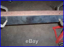 Model A Ford Drilled 1/8 Easy Weld Boxing Plates 28-31