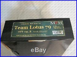 Model Factory Hiro 1/12 Team Lotus 79 1979 Ver. B South African Grand Prix (GP)