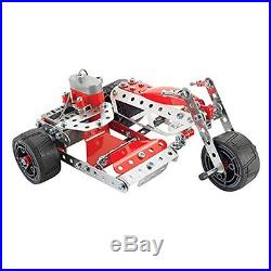 Model Motorized Set 270 Parts Working Gears Building Toys Racecar Games Parts