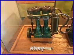 Model Steam Engine and Parts Vintage
