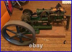 Model Steam Engine and Parts Vintage