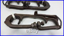 Model T Ford 1909 1927 TOP BOW SADDLES CLAMPS Original pair 315R 315L Used Parts