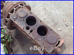 Model T Ford engine for parts or restore extra pistons rods caps