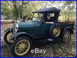 Model T Ford pick-up
