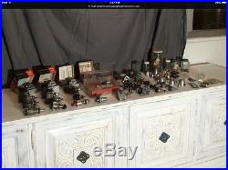Model airplane control line motors engines parts and misc. Huge lot NO reserve