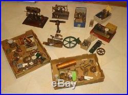 Model steam engine lot stuart parts kits triple expansion beam +++ must see