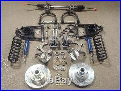 Mustang II 2 Front Suspension Kit Manual Drop Spindles Street Rat Rod Ford Chevy