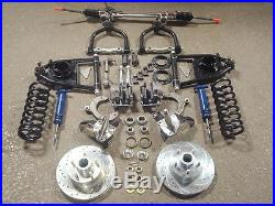 Mustang II 2 Front Suspension Kit Manual Stock Spinde ++ Street Rod Ford Chevy