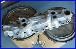 NAVARRO Dual Carburetor Intake Manifold FOR FLATHEAD V8 Hot Rod Custom scta 2x2