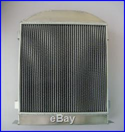 NEW 3 ROW 4 Pass Model-A Radiator Chevy-Engine Ford-Grill-Shells 1928-31 30 29