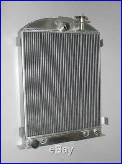 NEW 3 ROW 4 Pass Model-A Radiator Ford-Engine Ford-Grill-Shells 1928-31 30 29 28