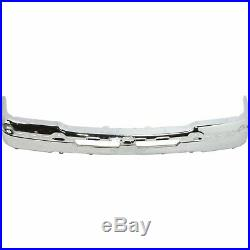 NEW Chrome Front Bumper Face Bar for 2003-2007 Chevy Silverado Avalanche Truck