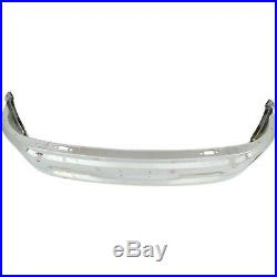 NEW Chrome Steel Front Bumper Face Bar for 2014-2018 RAM 1500 With Fog & Park Ast