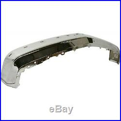NEW Chrome Steel Front Bumper for 1988-2000 Chevy & Sierra K1500 C1500 with Strip