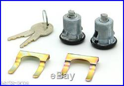 NEW Lockcraft Black Door Lock Cylinder PAIR / FOR LISTED CHEVROLET MODELS