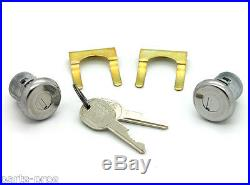 NEW Lockcraft Silver Door Lock Cylinder PAIR / FOR LISTED CHEVROLET MODELS