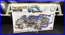 NEW Tamiya Porsche 935 Martini (with Photo Etched Parts) 1/12 Scale Model 12057