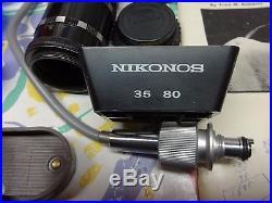 NIKONOS RARE PARTS FOR MODEL ONE
