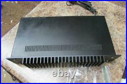 Nakamichi Model 420 Power Amplifier / Amp As Is for Parts or Repair