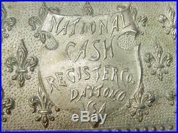 National Cash Register Model 7 Fleur de Lis Register Parts & Pieces