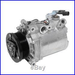 New AC A/C Compressor, Fits 2008 2009 2010 Mitsubishi Lancer L4 2.0L Non Turbo