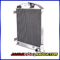 New Aluminum Radiator For FORD MODEL A CHEVY V8 UPGRADE 1930 1931