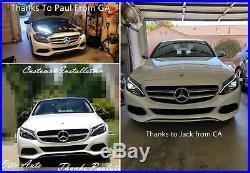 New Mercedes-Benz W205 Plug&Play C-Class Dual LED Headlight (Halogen Model) Pair