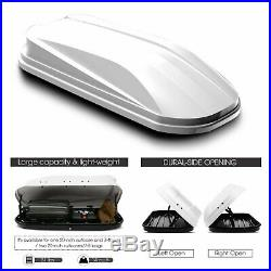 New Model Rooftop Cargo Box Waterproof Roof-Mount Case Car Storage Box Rack
