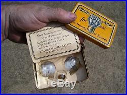 Original 1920 s- 1930s Vintage Edison lamp Bulb tin box nos ge Ford gm chevy