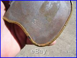 Original 1920 s- 1930s Vintage Prevent forest fires Snuffer tray Hot Rod scta
