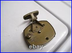 Original 1920 s- 1930s Vintage dash auto CLOCK time dial 40s old Ford gm chevy