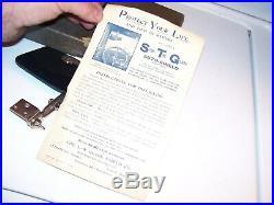 Original 1920 s- 1930s Vintage nos auto Visor Glare shield guide Ford gm chevy