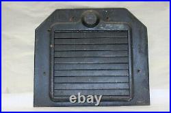 Original 1920's Pines Winterfront Automatic Shutter Grill Radiator Cover Shroud