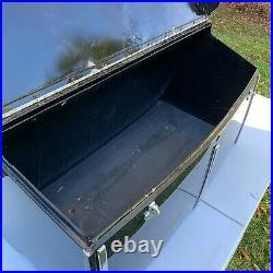 Original 1931 1933 Convertable Phaeton Metal Black Trunk Factory Stock