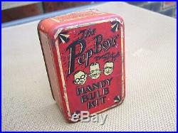Original 1940s Accessory PEP BOYS nos Bulb kit box GM Ford Chevy Dodge vintage