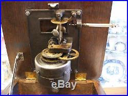 Original Columbia Parts Model AH Case, Motor, Brake/Speed Control, Turntable
