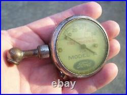 Original Ford motor 1920s auto promo Air gauge oem tool vintage kit part car old