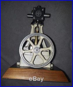 PERFECT LIVE STEAM ENGINE! Stuart V10 Vertical Model, Vintage Toy, plus extras