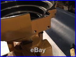 Parts Feeder Inc Model V-8 with B-10 Base Unit and 8 Feeder Bowl