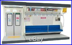 Parts model series 1/12 interior model commuter train blue sheet