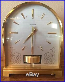 Parts or Repair 1960s Jaeger-Le Coultre Atmos Clock BOURNE Model Domed