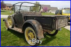 Parts project Ford Model A pick up roadster rat rod parts