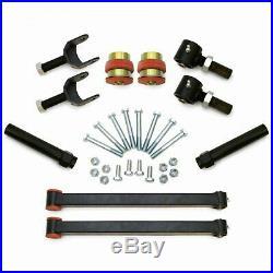 Performance 64-66 GM A-Body Rear Upper & Lower Control Arm Kit Black