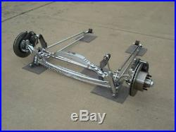 Pete & Jakes #2095C Chrome I-Beam Dropped Axle Front End 1928-1931 Model A Ford