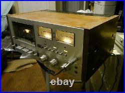 Pioneer Stereo Cassette Tape Deck Model CT-F9191-For Parts Only