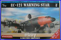 Plus Model BIG SET AL7011 EC-121 WARNING STAR + Resin Parts 172 Bausatz