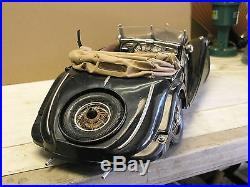 Pocher 1/8 scale. Model. 1935 mercedes 500k cabriolet. Parts or repair car