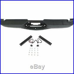Powdercoated Black Steel Bumper Assembly for 1999-2007 Ford F250 F350 Super Duty