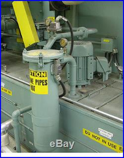 Proceco Aqueous Parts Washer Model TF 30x30x180-S-500-3-HBO-SS