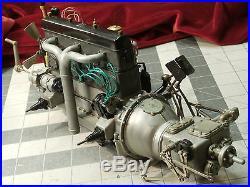 Rare 1 8 Pocher Rolls Royce Working 1932 Engine Motor